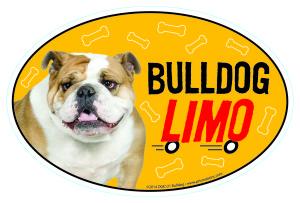 Dog Limo Magnets