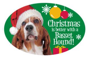 Christmas Dog Magnets
